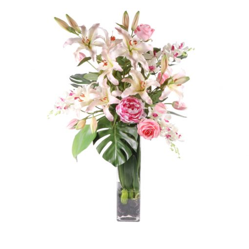 Casablanca lilies, orquids, roses and peonies WaterLook